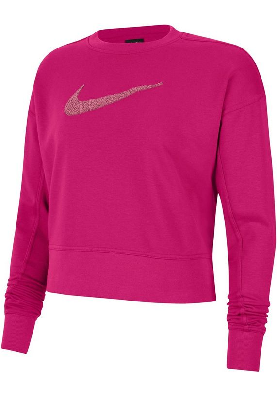 Roze dames trui Nike - Swoosh Training Crew CU5506-615