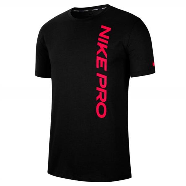 Zwart heren tshirt met rode details Nike - CU4975-011