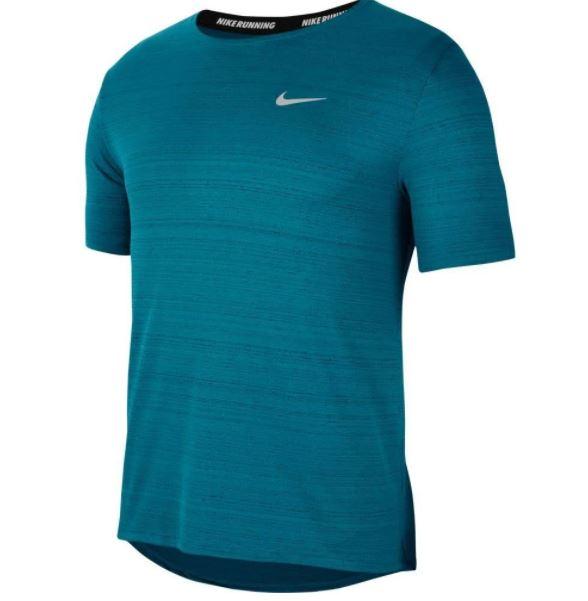 Blauw heren t-shirt Nike Dri-Fit - CU5992-467