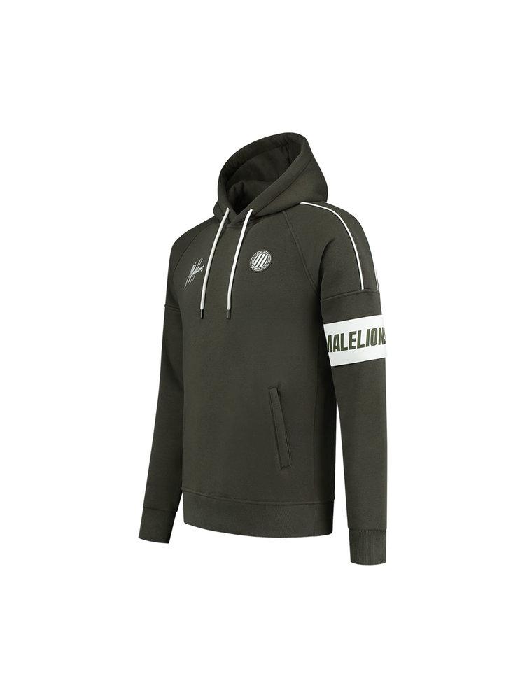 Groene hoodie Malelions - Coach Hoodie 408