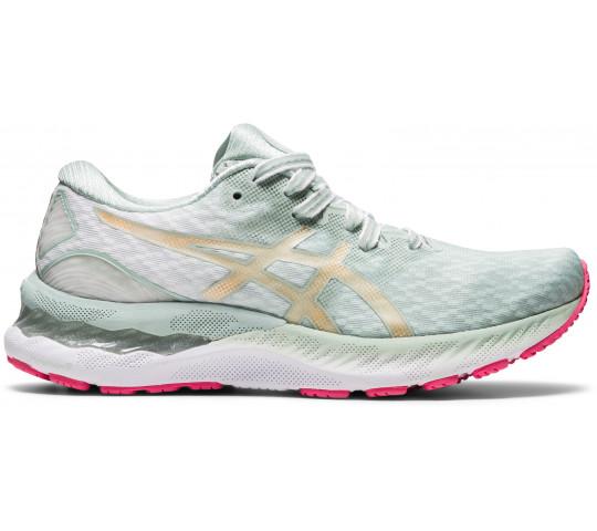 Mintgroene dames schoenen Asics Gel-Nimbus 23 - 1012A999-300