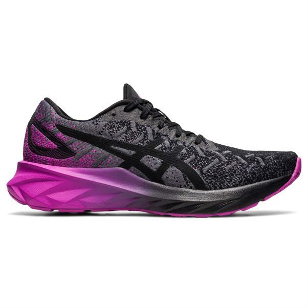 Zwart/paarse dames schoenen Asics Dynablast - 1012A701-003