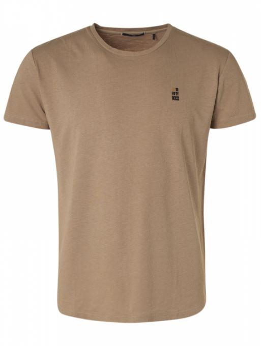 Bruin heren T-shirt No Excess - 11320201-043