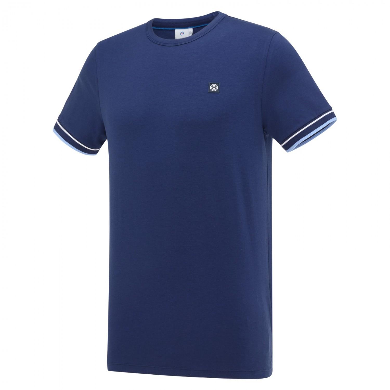 Donkerblauwe heren t-shirt Blue Industry - Kbis20-M40