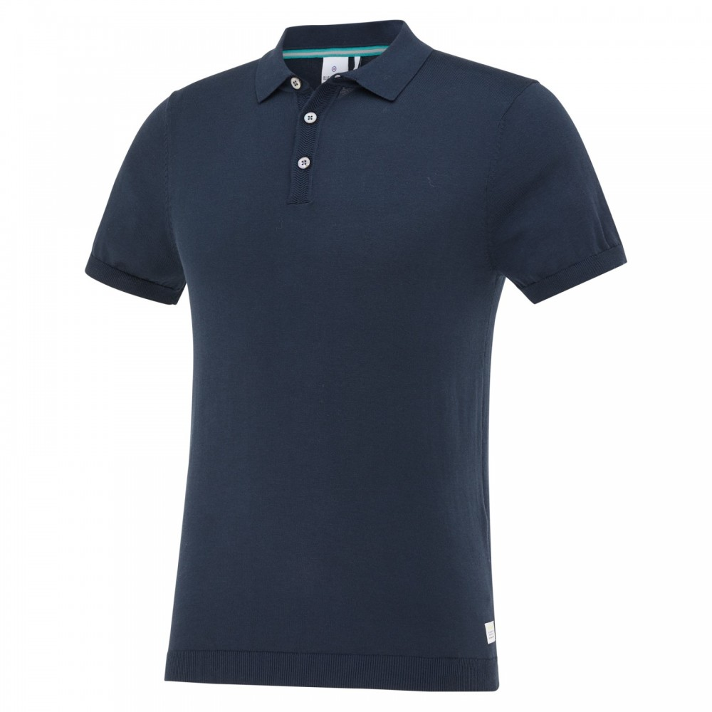 Blauwe heren polo Blue Industry - KBIS21-M12