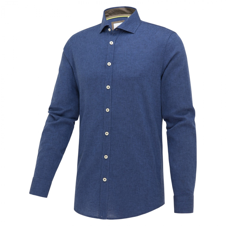 Blauw heren overhemd Blue Industry - 2350.11 indigo