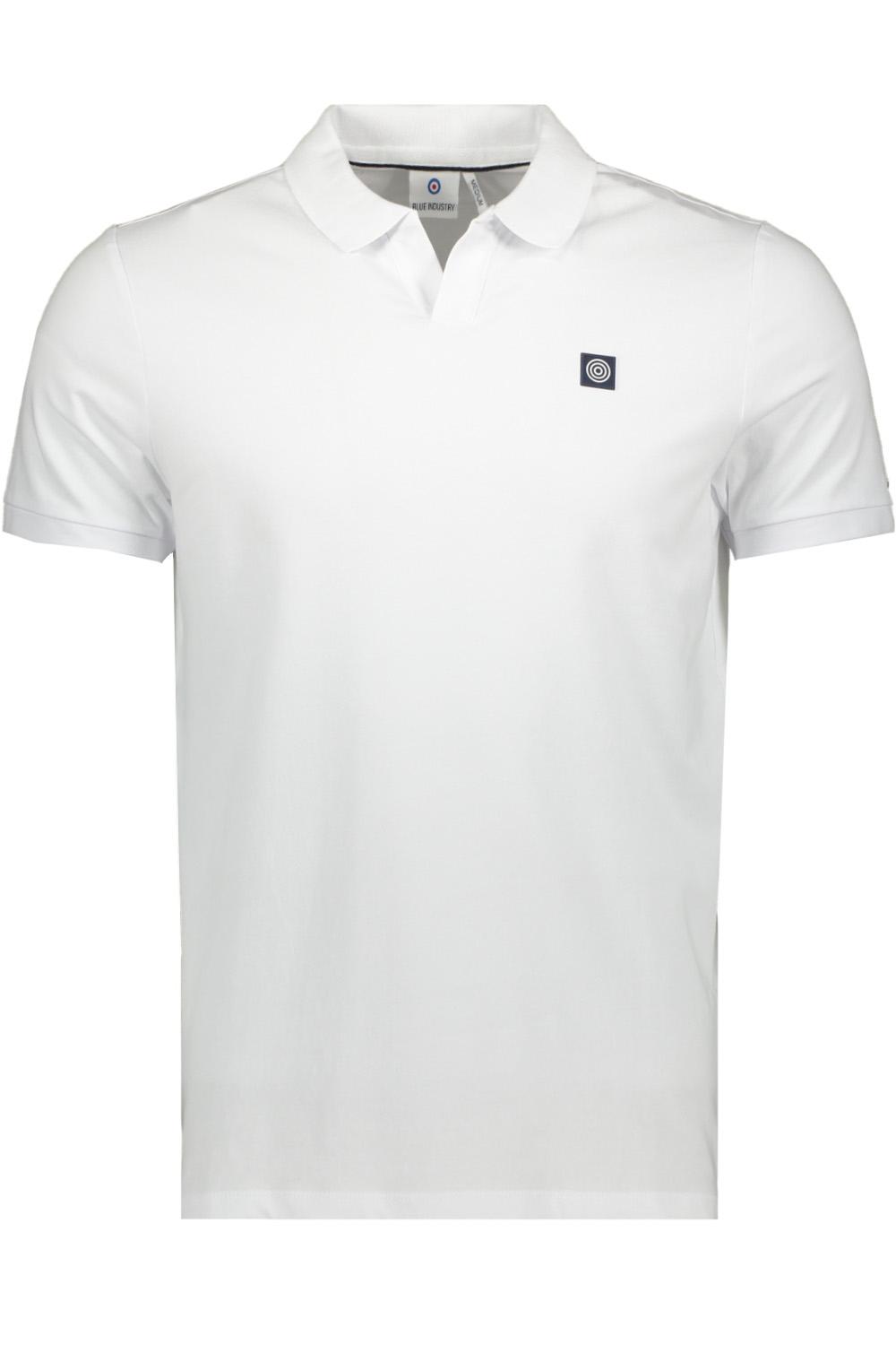 Witte heren polo Blue Industry - KBIS21-M38