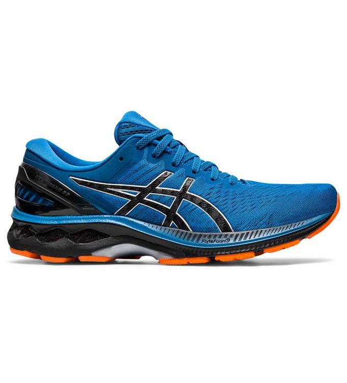 Blauwe heren schoenen Asics Gel-Kayano 27 1011A767-402