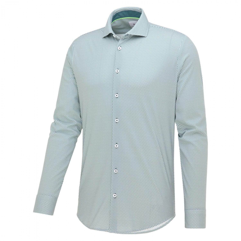 Groen heren overhemd Blue Industry - 2333.11 green