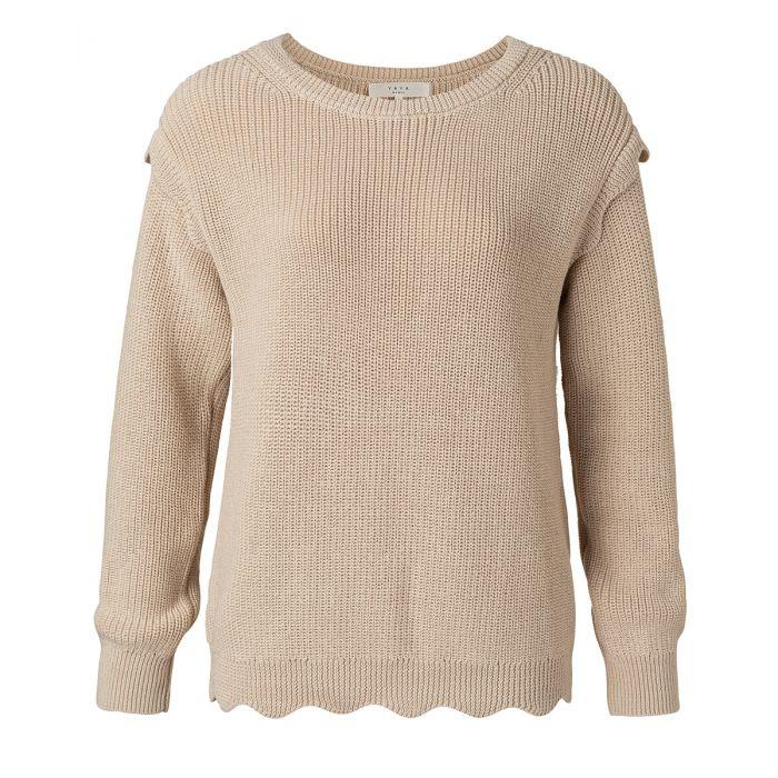 Bruine dames sweater YAYA - 1000415-112