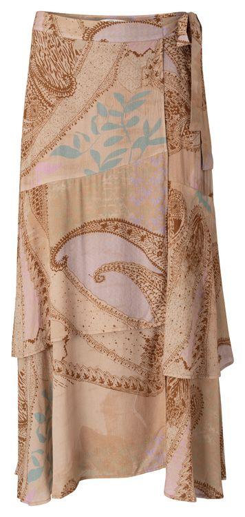 Roze dames rok met print YAYA - 1401133-113