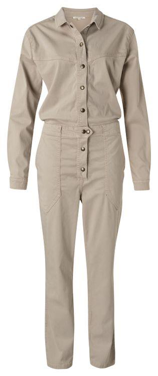 Beige dames jumpsuit YAYA - 124128-113