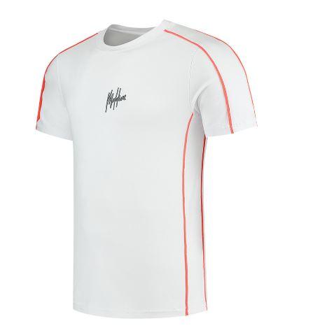 Wit heren t-shirt Malelions - Thies Tee 104