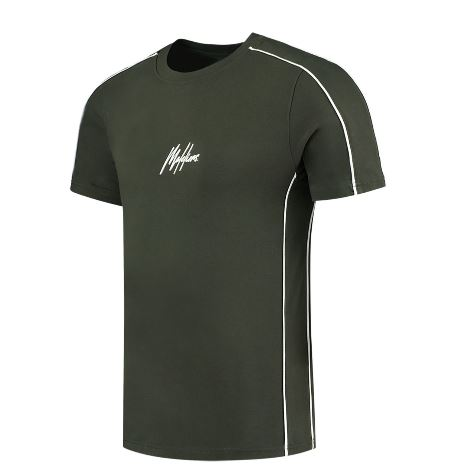 Groen heren t-shirt Malelions - Thies Tee 408