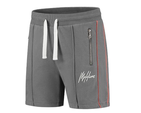 Grijze heren short Malelions - Thies Short 2.0 104