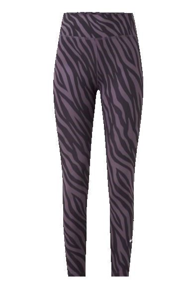 Paarse dames tight Nike One 7/8 Printed - DC5276-573