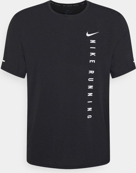 Zwart heren t-shirt Nike Run Division - DA1315-010