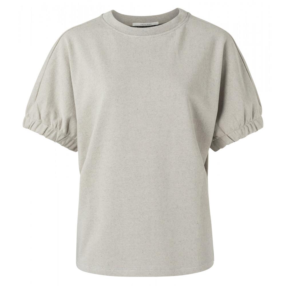 Lichtgrijze dames sweater YAYA- 1009429-113