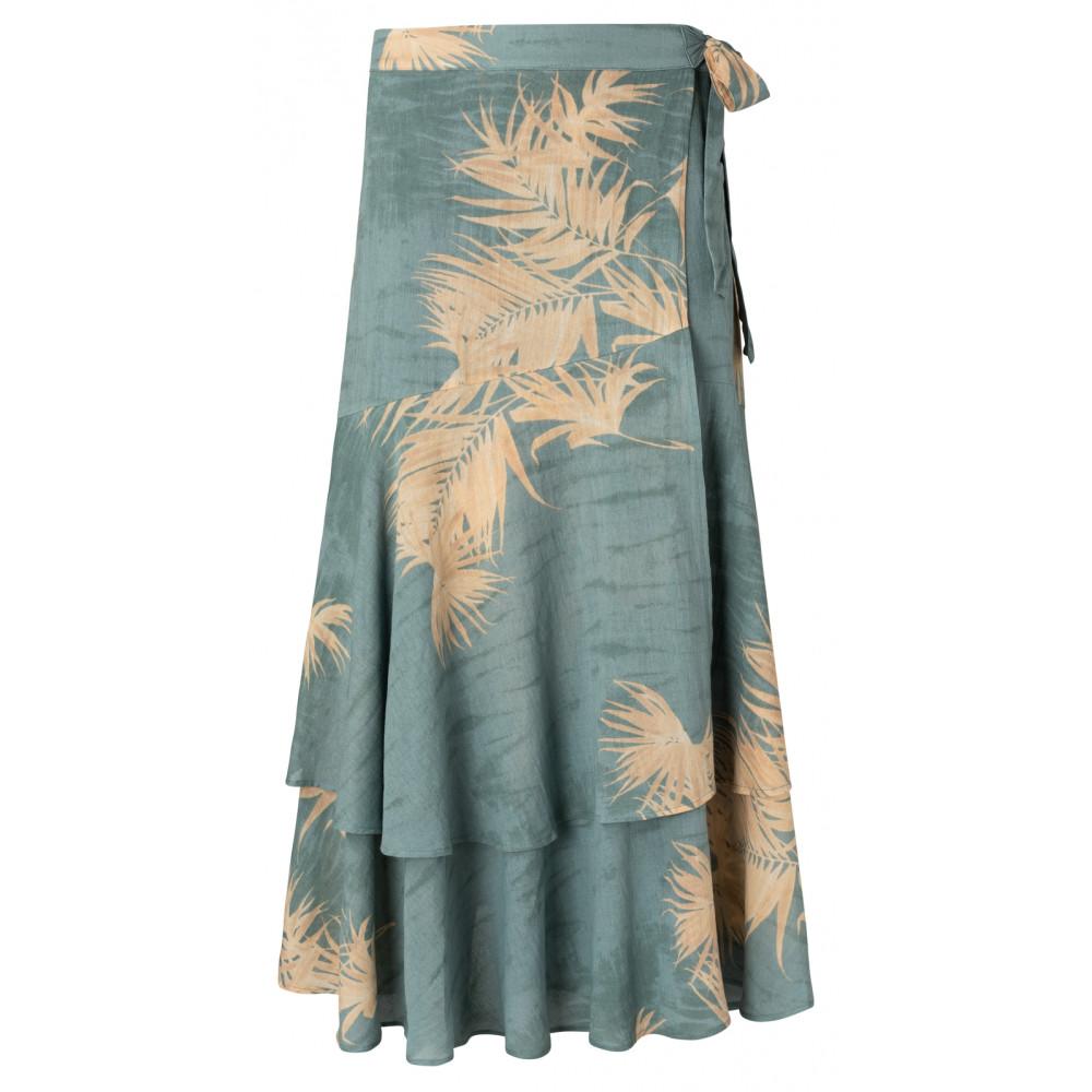 Blauwe dames rok YAYA - 1401136-113