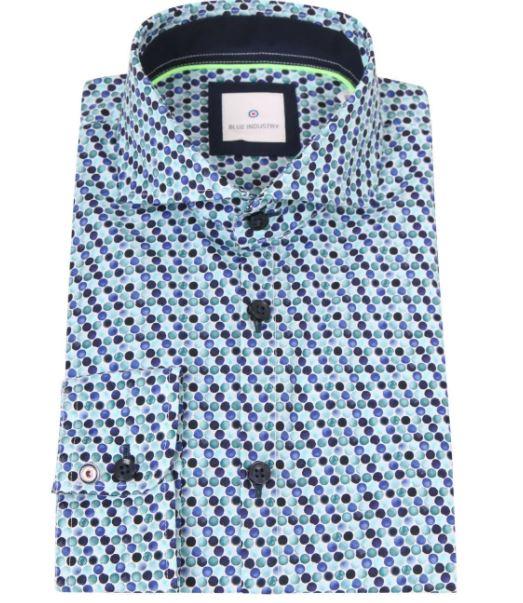 Donkerblauw heren overhemd Blue Industry - 2329.11