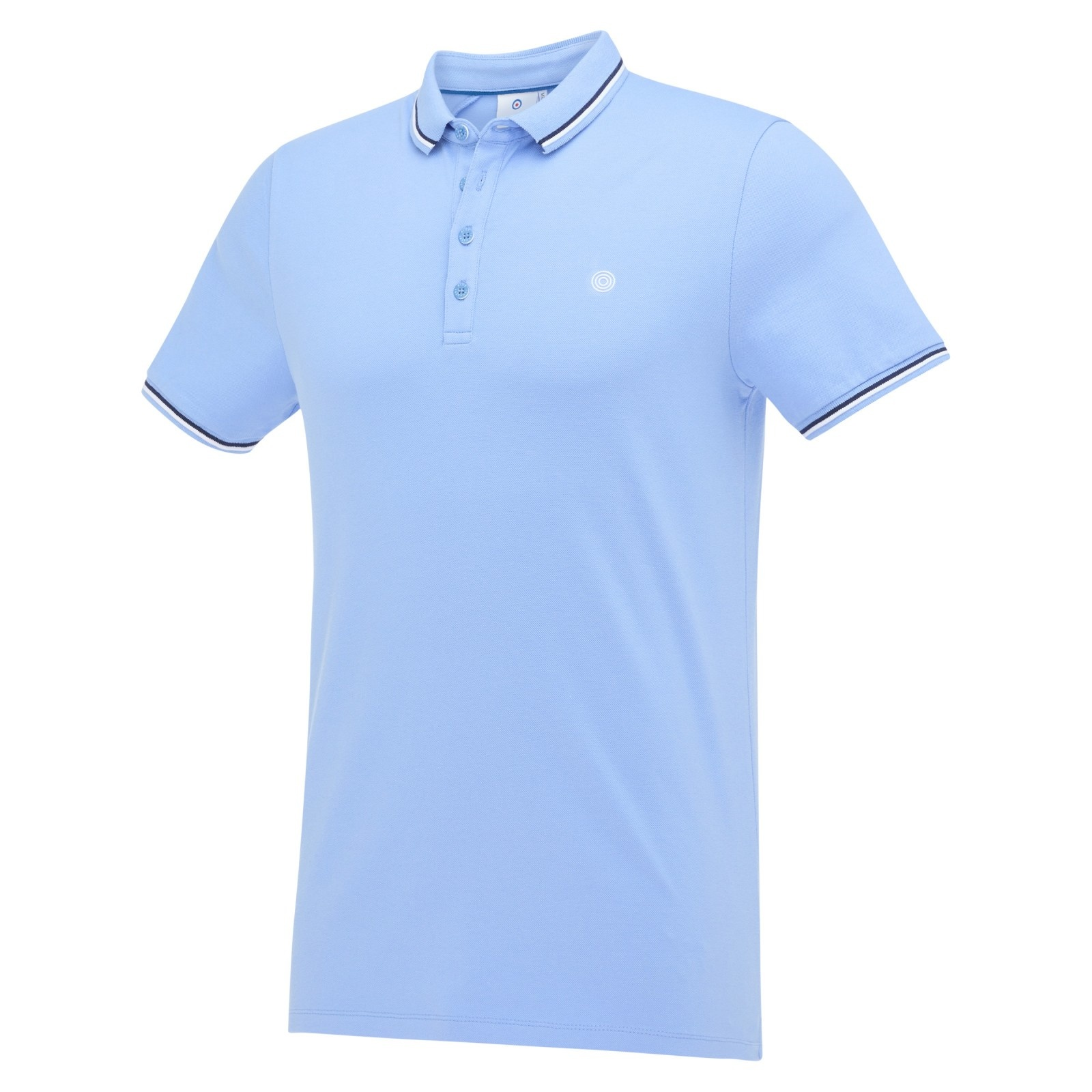 Blauwe heren polo Blue Industry - KBIS21-M24 sky