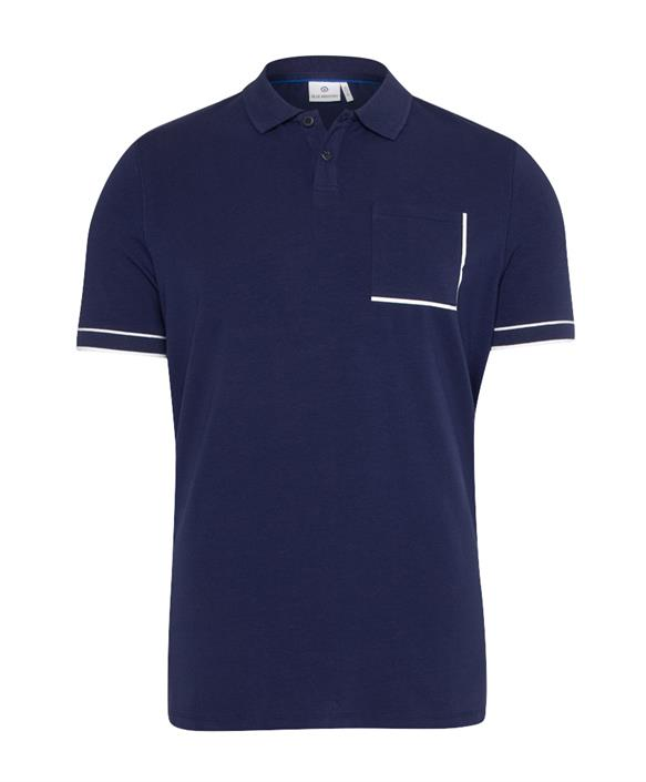 Blauwe heren polo Blue Industry - KBIS21-M28 blue