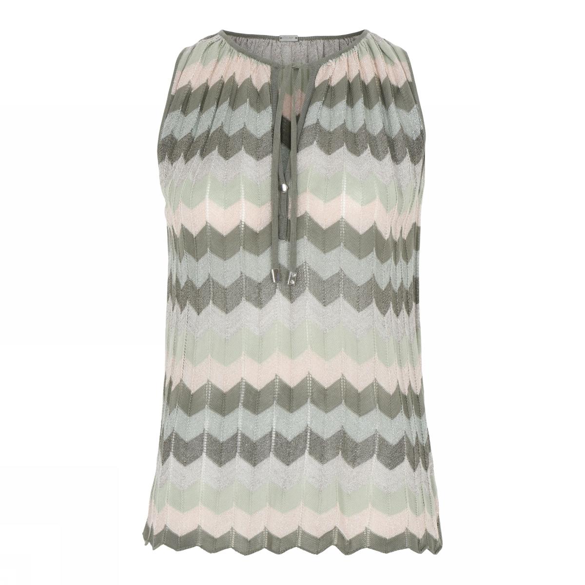 Dames top Gustav Jayla knit halter neck   41401-3537-0-83018