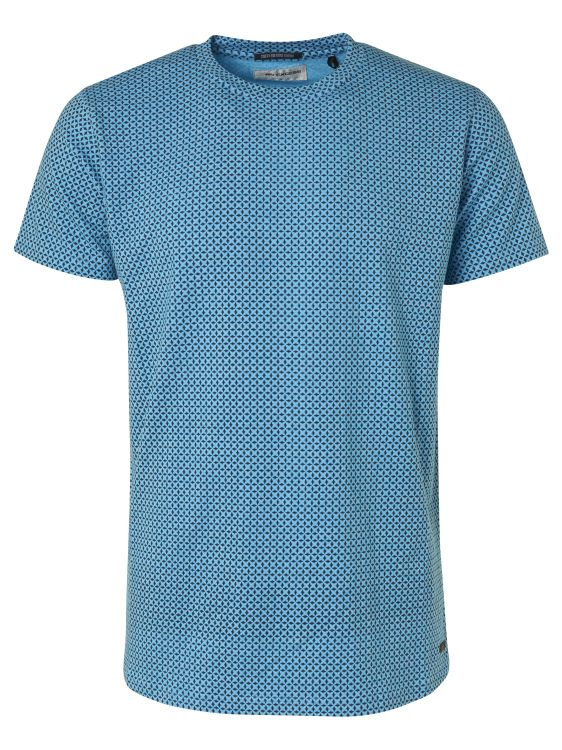 Blauw heren t-shirt No Excess - 96350512-036