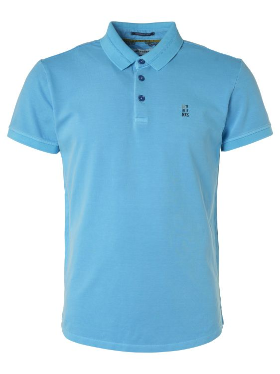 Blauwe heren polo No Excess - 96370501-036