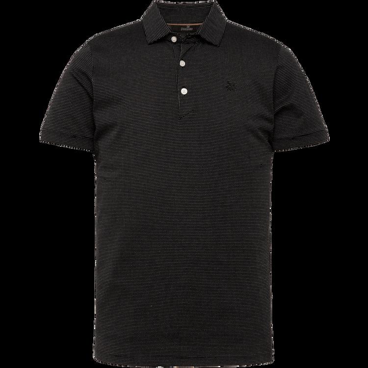 Zwarte heren polo Vanguard - VPSS213888-999