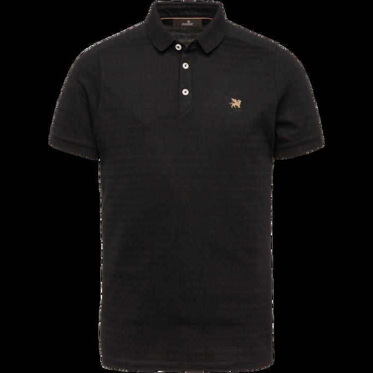 Zwarte heren polo Vanguard - VPSS213872-999