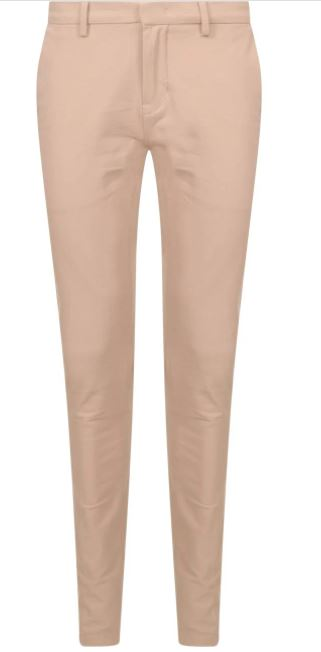 Bruine chino heren broek - vanguard - v12 chino 4way stretch twill - 8023 32