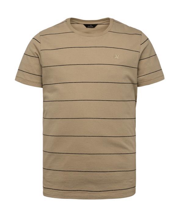 Lichtbruin heren t-shirt Vanguard - VTSS213258 8008