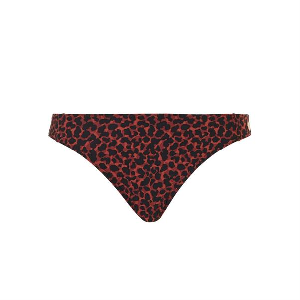 Bruin bikini broekje met print Tc WoW - 20211-2192
