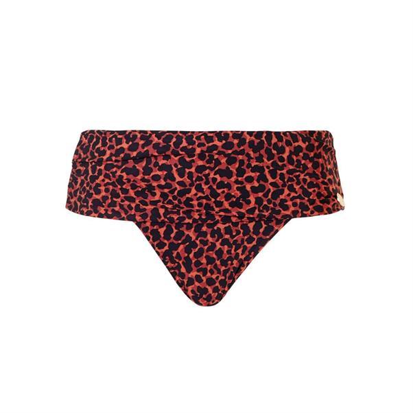 Bruin bikini broekje met print Tc Wow - 20214-2192