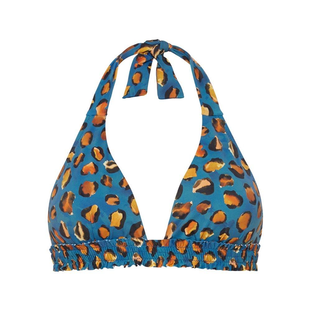 Blauwe bikini top met print Cyell - 110104 158
