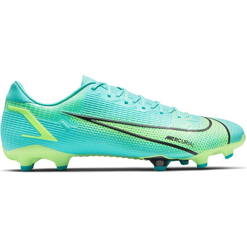 Blauw/groene voetbalschoenen Nike Mercurial Vapor 14 - CU5691-403