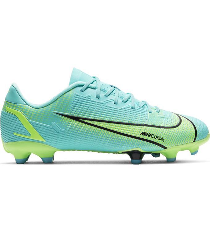 Blauw/groene kinder voetbalschoen Nike JR Mercurial Vapor 14 - CV0811-403
