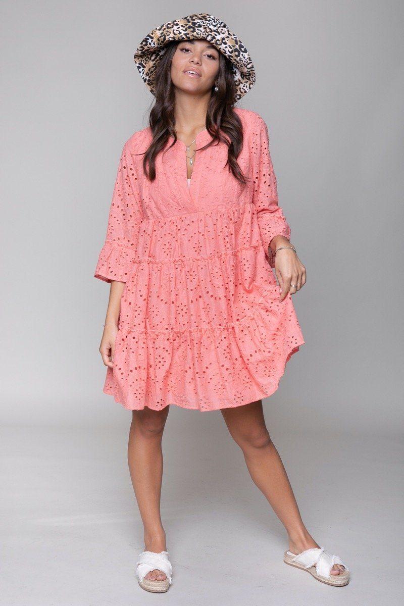 Roze dames jurkje Colourful Rebel - 10326 pink