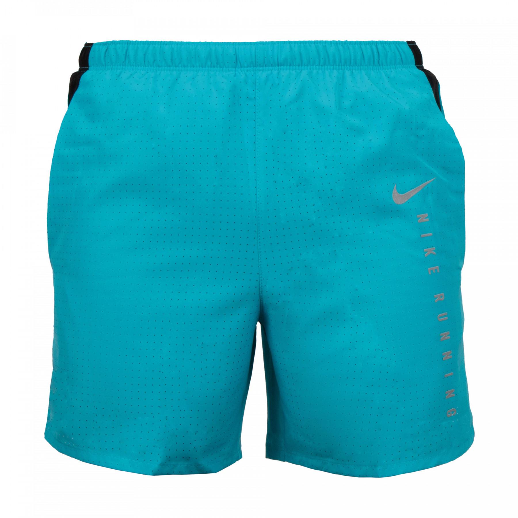 Blauw runningshort Nike Challenger Run Division - DA1310-447