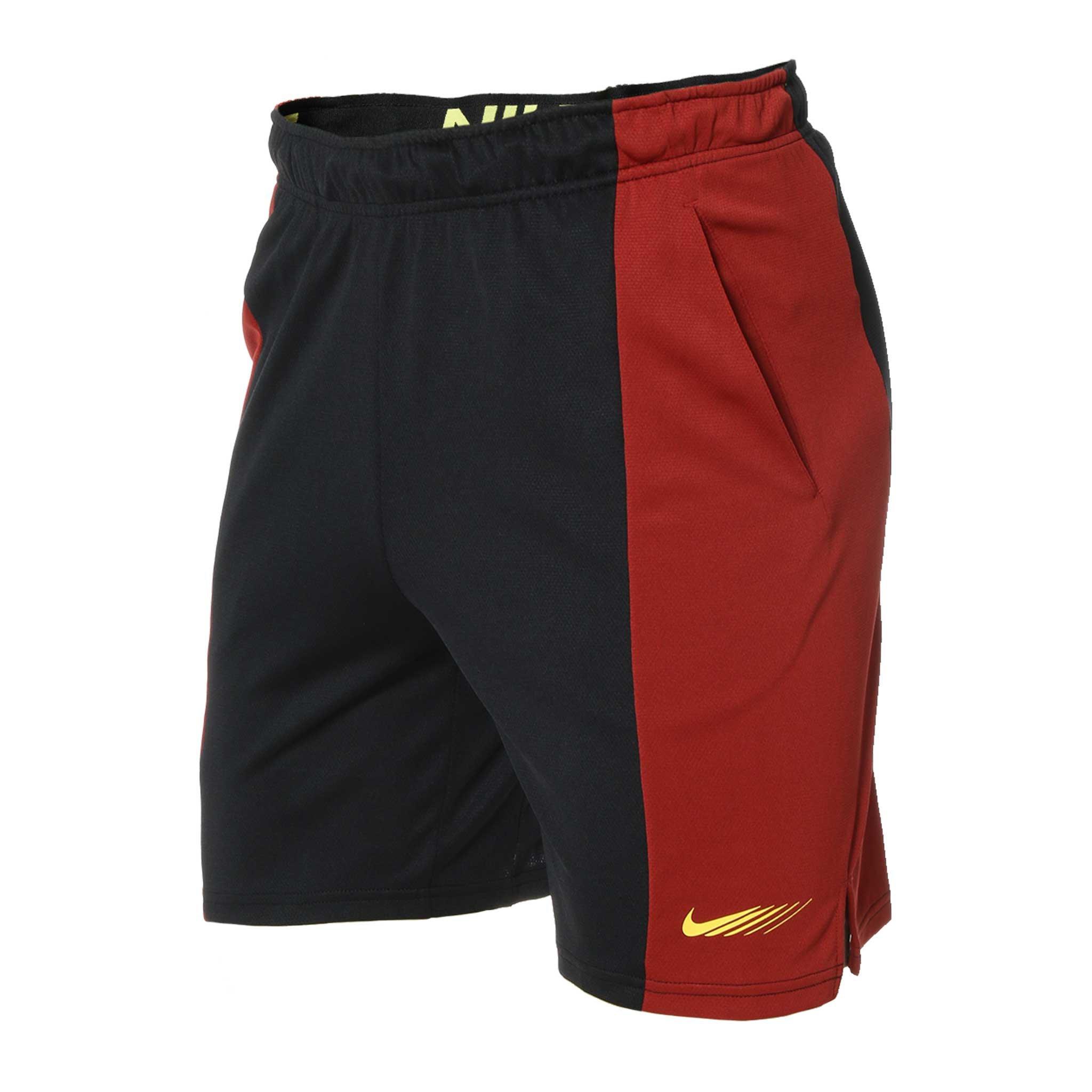 Zwart/rood sportbroekje Nike Dri-Fit - CZ7710-689