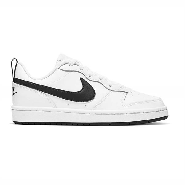 Wit/zwarte kinderschoenen Nike Court Borough Low 2 GS - BQ5448-104