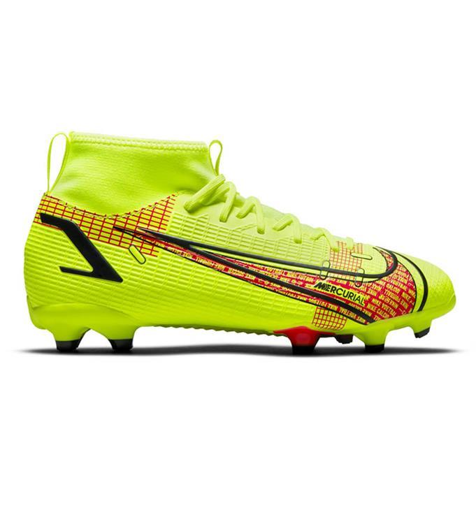 Gele kinder voetbalschoen Nike Mercurial Superfly 8 Academy - CV1127-760
