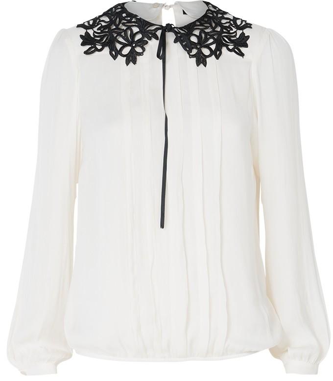 Creme dames blouse Summum - 2S1792-10153