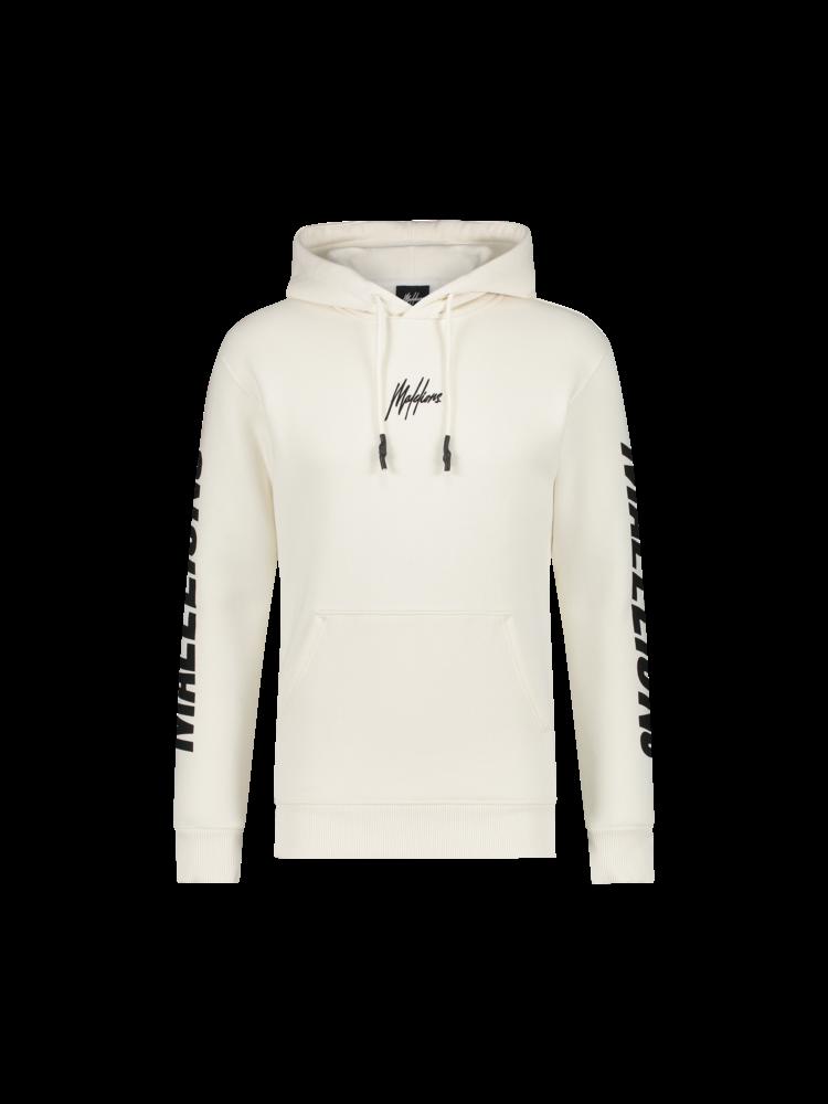 Witte heren hoodie Malelions - Lective Hoodie