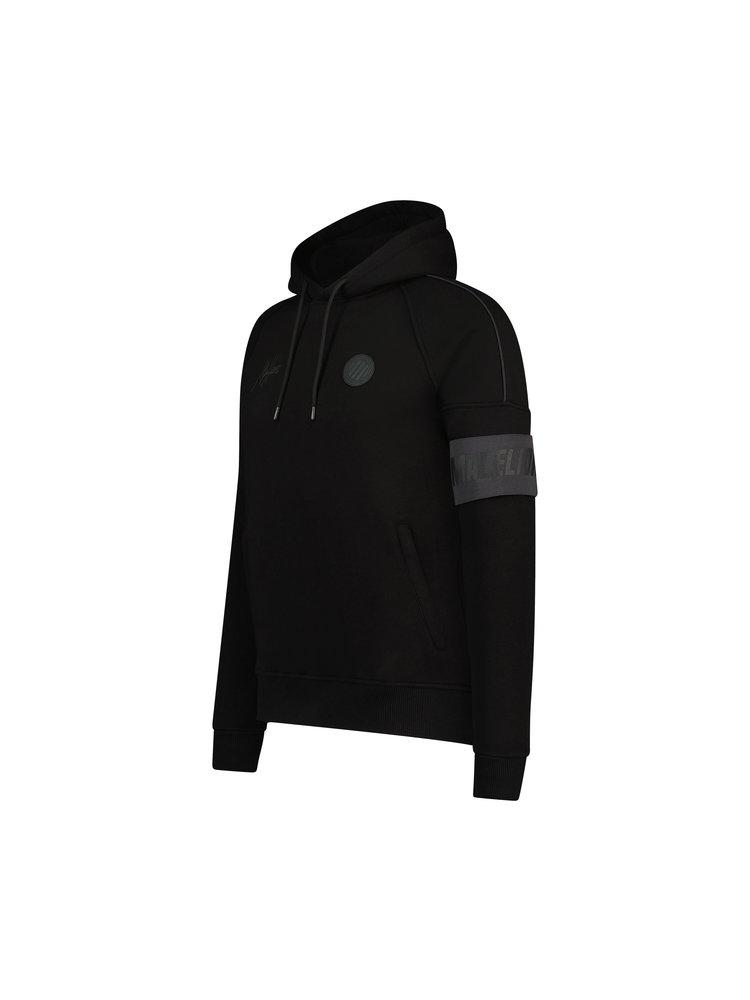 Zwarte hoodie Malelions - Coach Hoodie 906