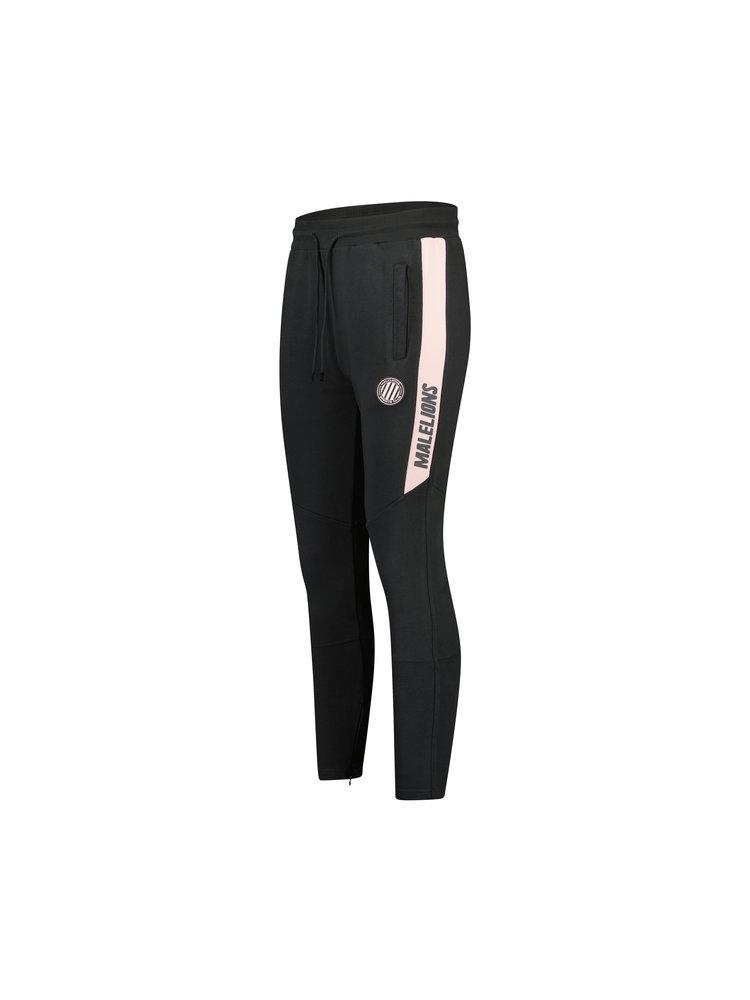 Grijs/roze trainingsbroek Malelions - Coach Trackpants 212