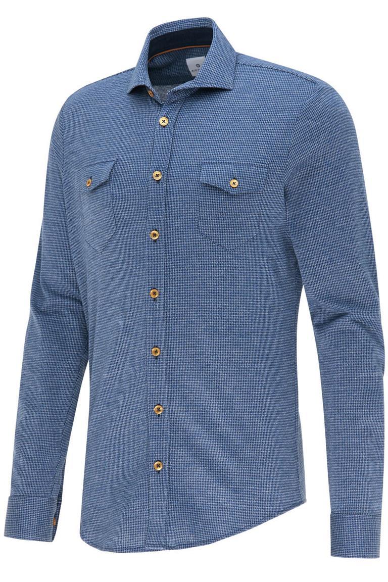 Blauw heren overhemd Blue Industry - 2428.22