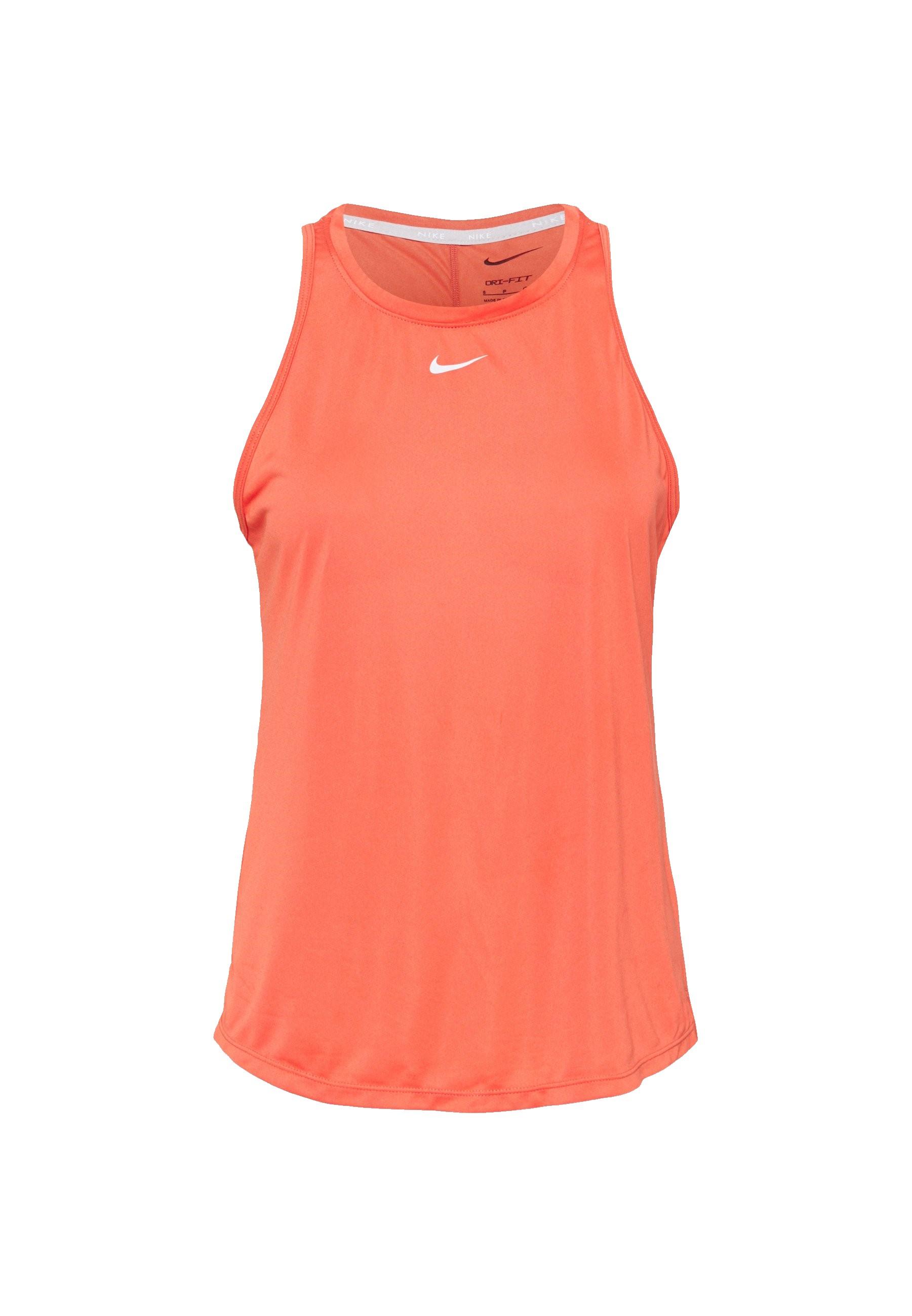 Oranje/Roze dames tanktop Nike One -DD0636-814