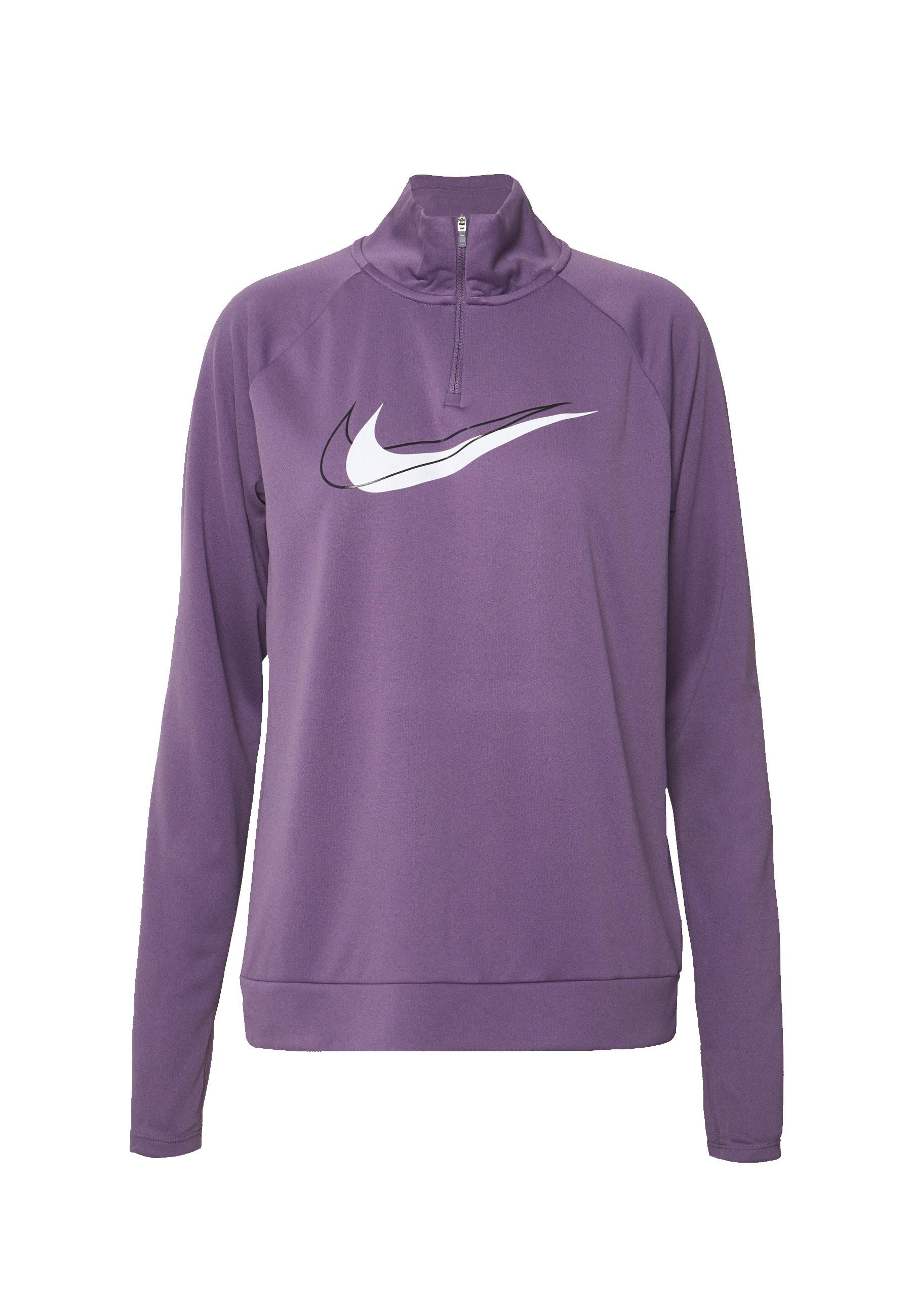 Paarze dames top Nike Dri-Fit Swoosh - DD4902-574